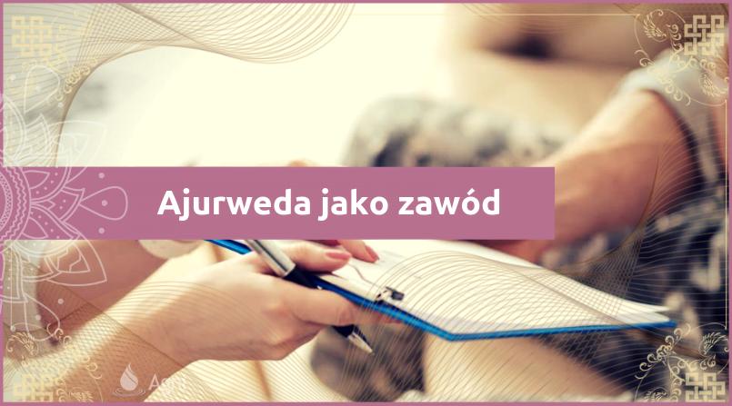 Ajurweda-jako-zawód