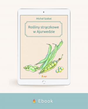 Ebook Rośliny strączkowe w Ajurwedzie okładka