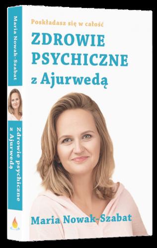Książka Zdrowie Psychiczne z Ajurwedą II Wydanie Bez tła 607x960